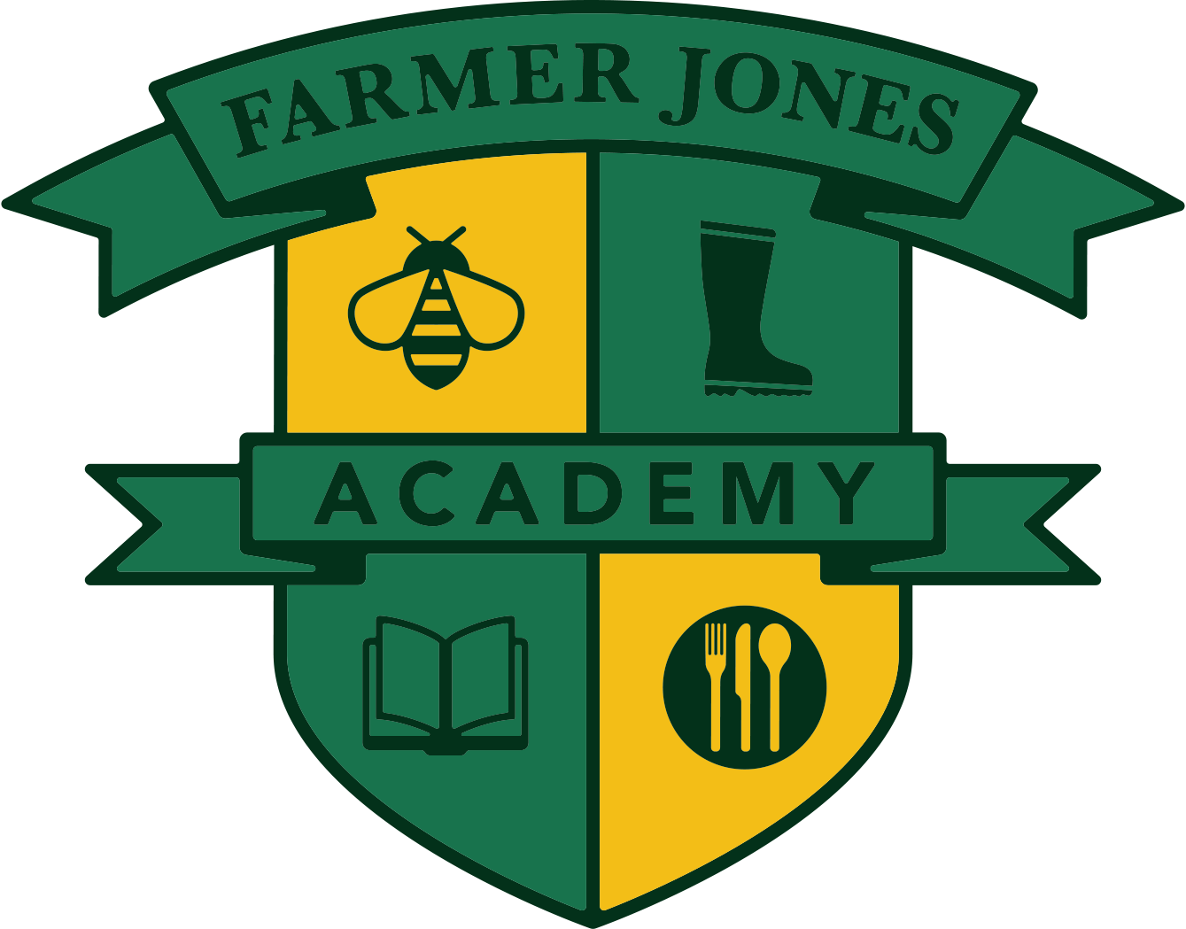 The Farmer Jones Academy logo